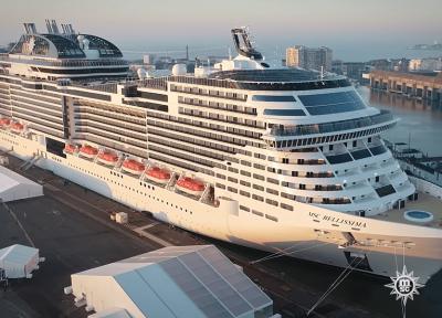 تور کشتی کروز اروپا (مدیترانه شرقی):مسیر کشتی MSC Lirica ایتالیا، یونان و کرواسی، بهار و تابستان97