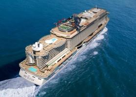 تور کشتی کروز 19روز دور دنیا اروپا تا برزیل، مسیر کشتی: ایتالیا، اسپانیا، پرتغال، جزایر قناری، برزیل با کشتی کروز MSC SEAVIEW