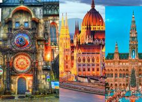 تور اروپا (اتریش+مجارستان+چک) 10روز