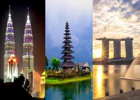تور ترکیبی مالزی، اندونزی و سنگاپور 12 روز : تور کوالالامپور 4شب +تور بالی 4شب + تور سنگاپور 3شب، با پرواز امارات بهار و تابستان 97