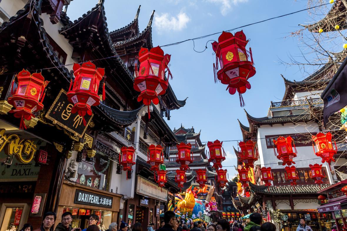 بازار یویوان شانگهای (چین)