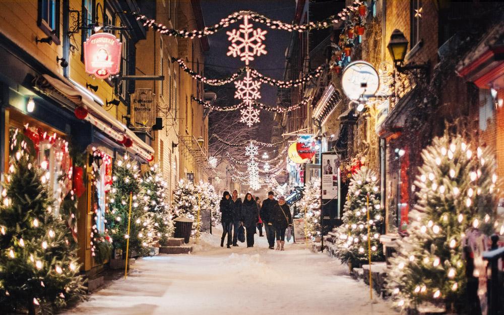 گشت و گذار در زیباترین خیابان کبک در تور کانادا