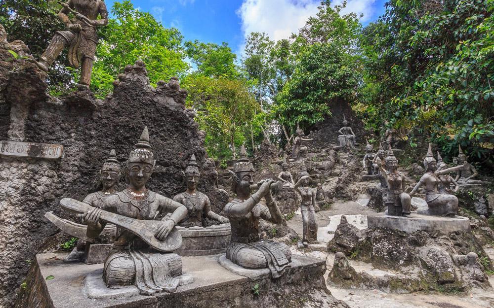 باغ بودای مخفی سامویی (تایلند)