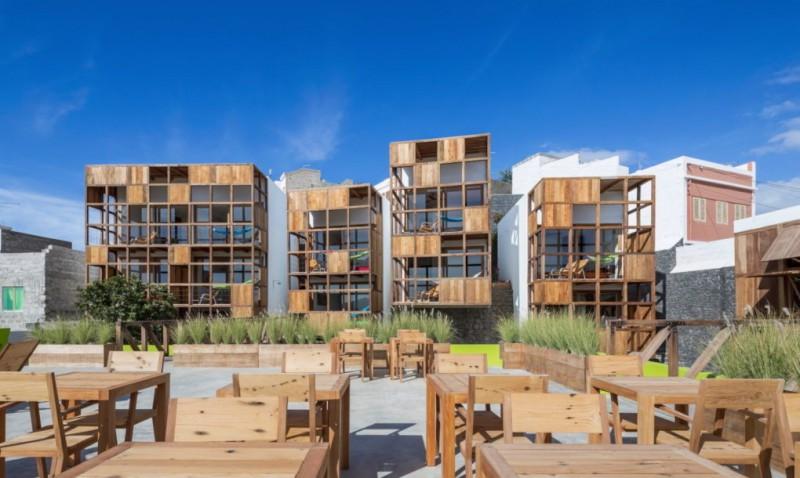 هتل Terra Lodge با مواد بازیافتی ساخته شد