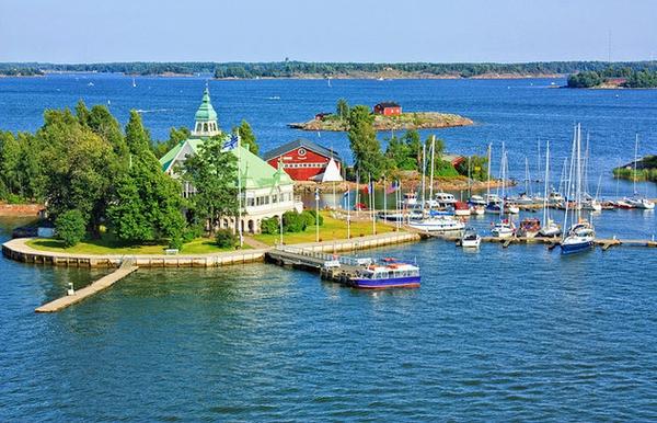 جزیره اختصاصی خانم ها در فنلاند