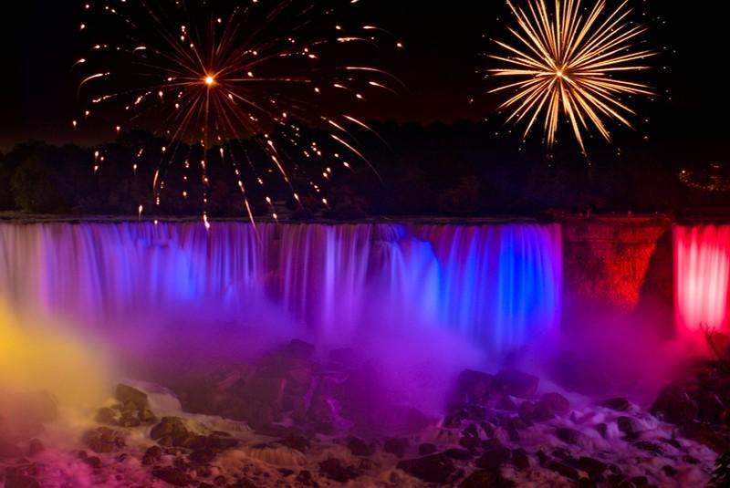 تفریح در آبشار نیاگارا