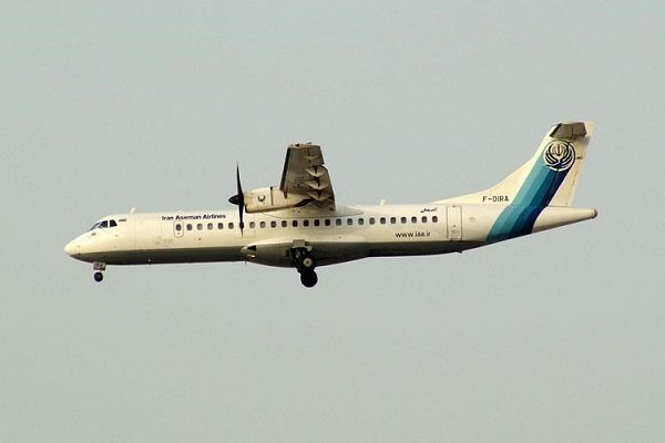 سقوط هواپیمای مسافربری در سمیرم اصفهان و مرگ تمامی سرنشینان
