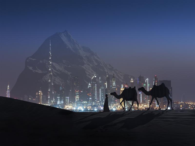 امارات با ساخت کوه مصنوعی باران خواهد داشت