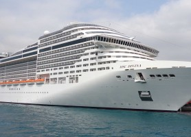 تور کشتی کروز اروپا 8 روز سواحل مدیترانه غربی: تور ایتالیا، اسپانیا و فرانسه با کشتی کروز  MSC Divina