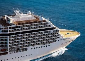 تور کشتی کروز اروپا 8 روز سواحل مدیترانه غربی: تور ایتالیا، فرانسه و اسپانیا با کشتی کروز MSC Orchestra
