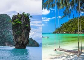 تور تایلند 8روز (تور سامویی 3شب + تور پوکت 4شب ) تور تایلند 8 روز پوکت + ساموئی ، پاییز 97