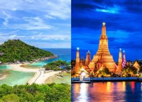 تور تایلند 8روز (تور بانکوک 3شب + تور سامویی 4 شب)، پرواز مستقیم ماهان،  پاییز 97