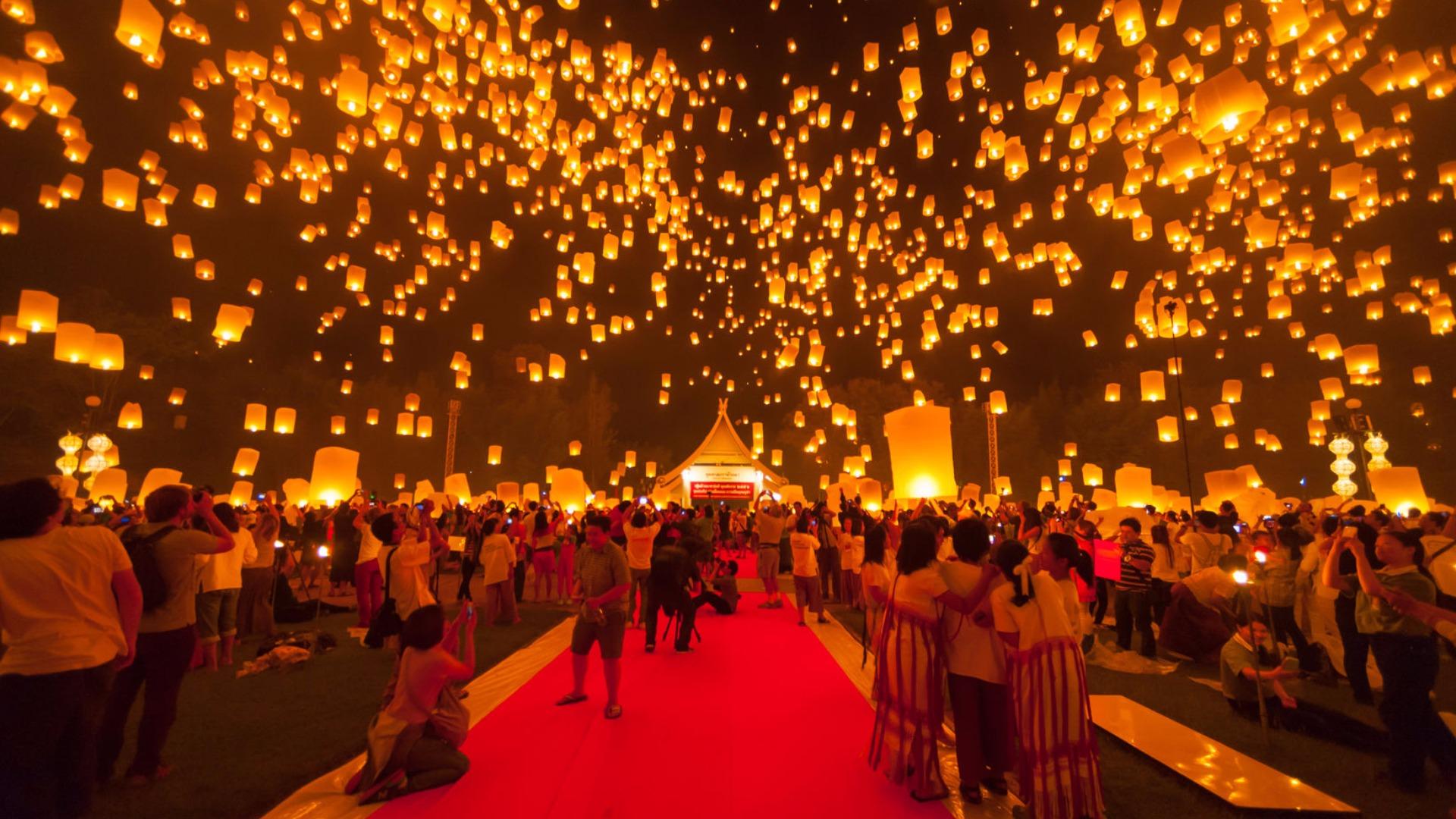 زمانبندی برای سفر در جشنواره های تایلند