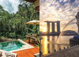تور بالی سنگاپور :  تور بالی 4شب + تور سنگاپور 3شب، پرواز ماهان و ایرایشیا، پاییز 97