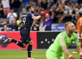 فرانسه 2 - هلند یک ، ژیرو جشن قهرمان جهان را تکمیل کرد