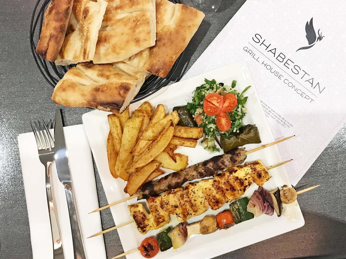 رستوران ایرانی شبستان پاریس (فرانسه)