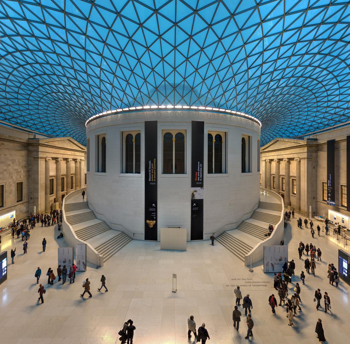 موزه بریتانیا لندن (انگلستان)