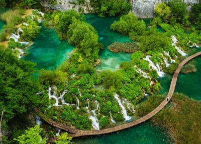 پارک ملی دریاچه های پلیتویک کرواسی