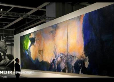 تابلوی نقاش چینی - فرانسوی 65 میلیون دلار در هنگ کنگ فروخته شد