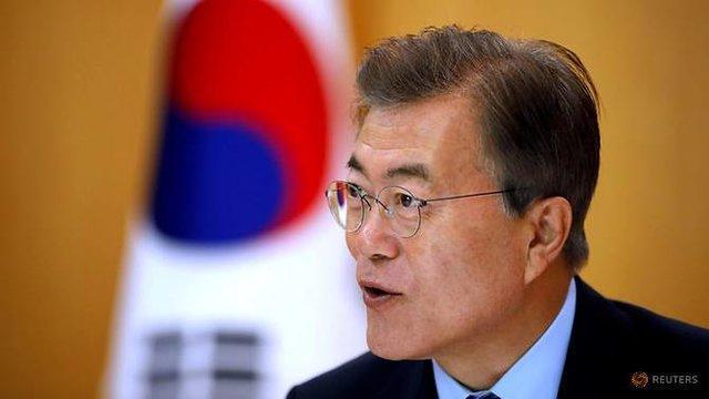 دیدار رئیس جمهور کره جنوبی با رهبران آلمان، انگلیس و تایلند در بلژیک