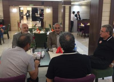 گرشاسبی در دبی به سرخپوشان ملحق می گردد، برگزاری پنجمین نشست ستاد برگزاری لیگ قهرمانان