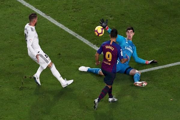 بارسلونا 5 - رئال مادرید یک ، پنج گل برای بدرقه لوپتگی