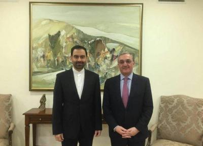 دیدار سفیر کشورمان در ایروان با کفیل وزارت خارجه ارمنستان
