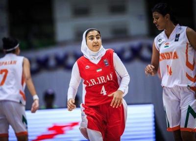 آمار دختران بسکتبالیست ایران در بازی برابر سنگاپور، درخشش آقازادگان