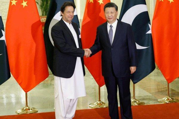 دیدار عمران خان با رئیس جمهوری چین
