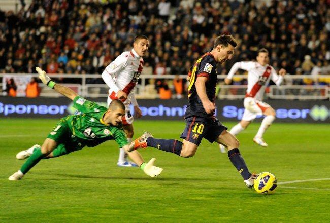 هفته یازدهم لالیگا اسپانیا؛ رایو وایکانو 2 - بارسلونا 3، کاتالان ها در 3 دقیقه از شکست پیروزی ساختند