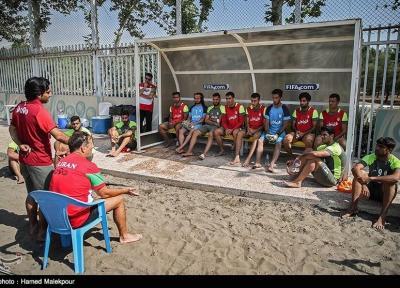 تیم ملی فوتبال ساحلی به دبی رسید