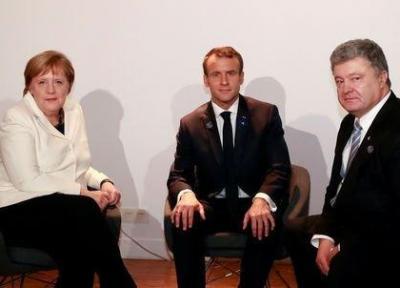 دیدار پوروشنکو با رهبران آلمان و فرانسه