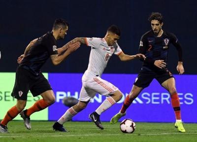 کرواسی با گل ثانیه های پایانی موضع اسپانیا را به خطر انداخت، بوسنی به لیگ A ملت های اروپا صعود کرد