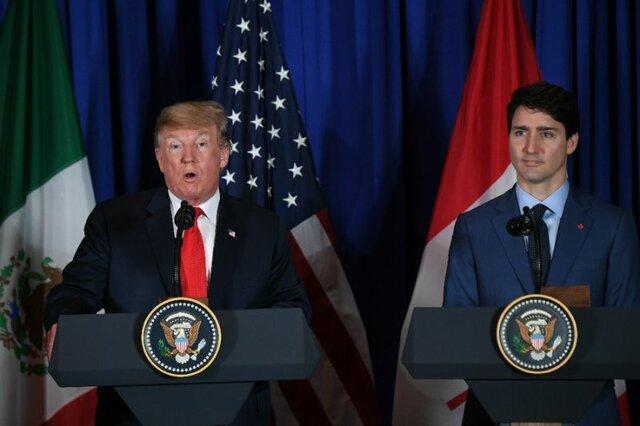 توافق ترامپ و ترودو برای اقدام علیه چین بابت کانادایی های بازداشتی
