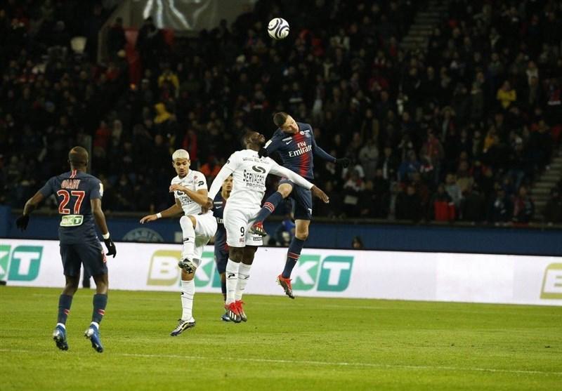 پاری سن ژرمن با جام اتحادیه فرانسه وداع کرد