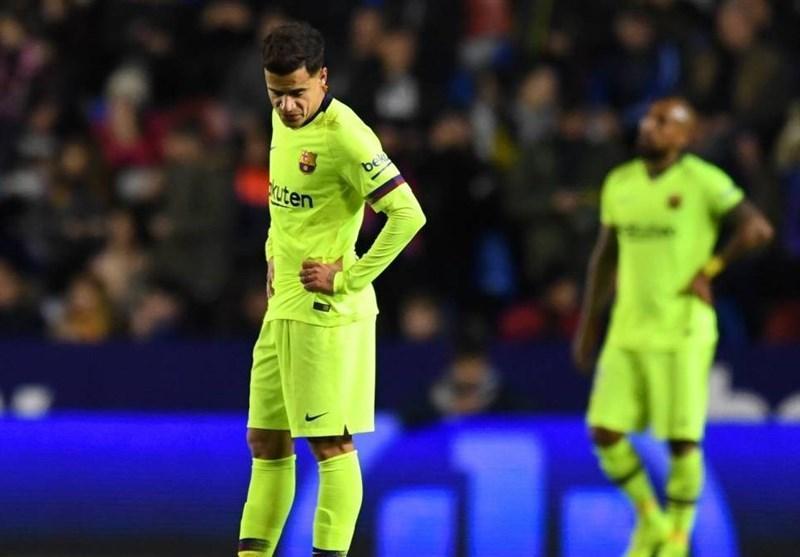 شکست خفیف بارسلونا و برتری خارج از خانه سویا در جام حذفی اسپانیا