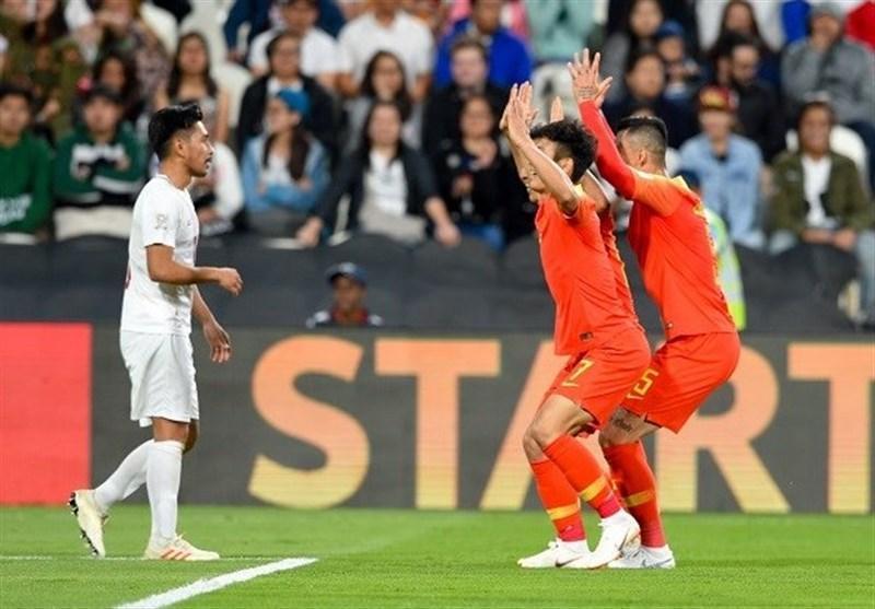 جام ملت های آسیا، برتری آسان چین برابر فیلیپین، صعود شاگردان لیپی قطعی شد
