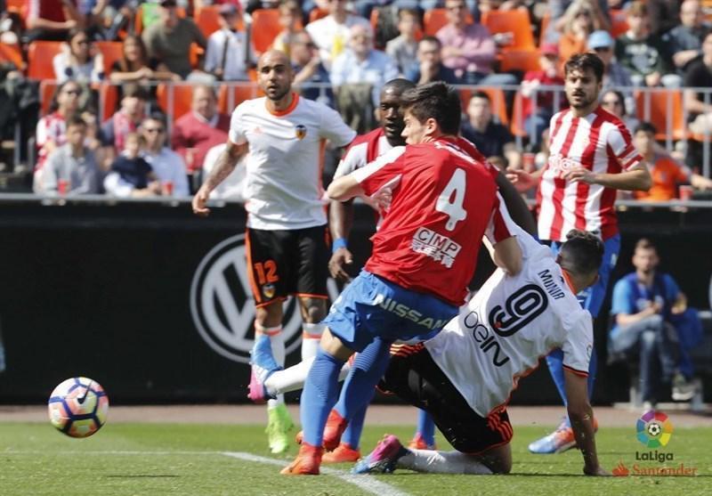 شکست والنسیا در بازی رفت مرحله یک چهارم نهایی جام حذفی اسپانیا