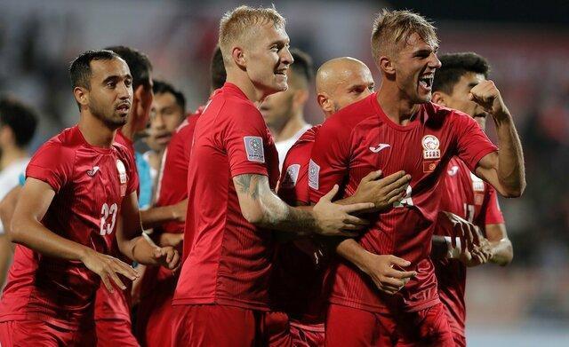 قرقیزستان حریف امارات در مرحله حذفی جام ملت ها شد