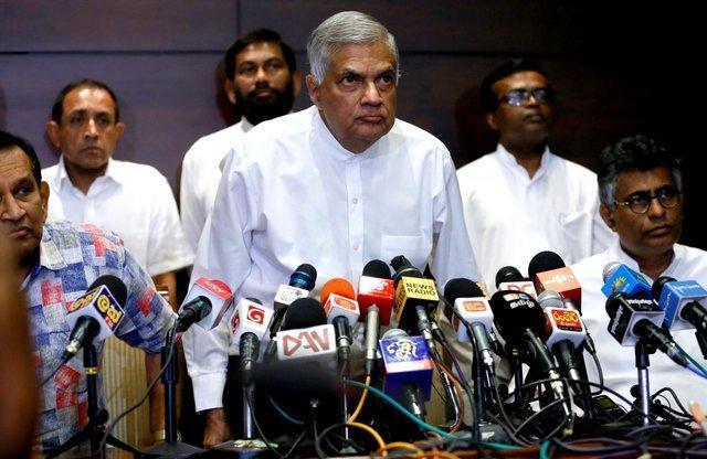 نخست وزیر برکنار گردیده سریلانکا در رای اعتماد پیروز شد