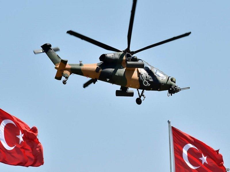 بالگرد نظامی ترکیه در استانبول سقوط کرد