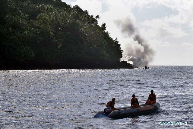 خطر گرفتار شدن 508 اندونزیایی در مواد مذاب