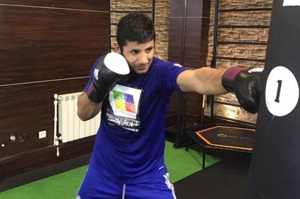 مبارزه پیشین کاپیتان تیم ملی کاراته ایران برابر حریف کانادایی