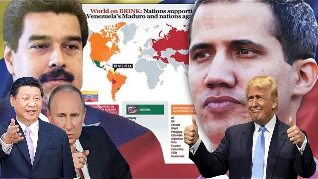 تشدید زورآزمایی آمریکا با روسیه و چین بر سر ونزوئلا