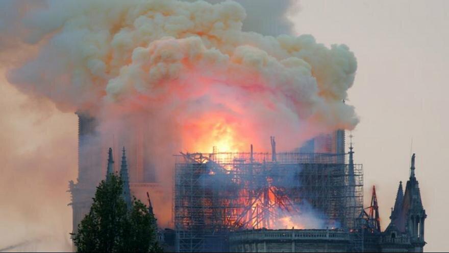 چگونگی تامین بودجه بازسازی کلیسای نوتردام در کشور لائیک فرانسه
