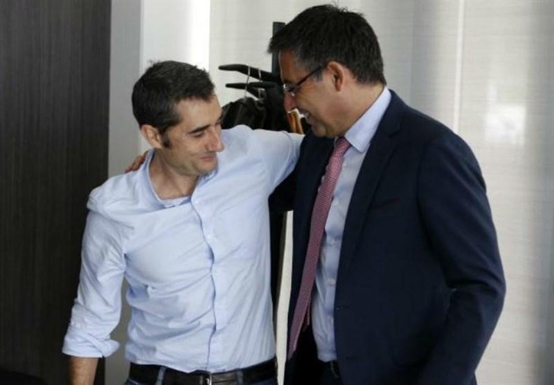 بارتومئو: والورده سرمربی بارسلونا می ماند، هدف اصلی ما قهرمانی در لالیگاست
