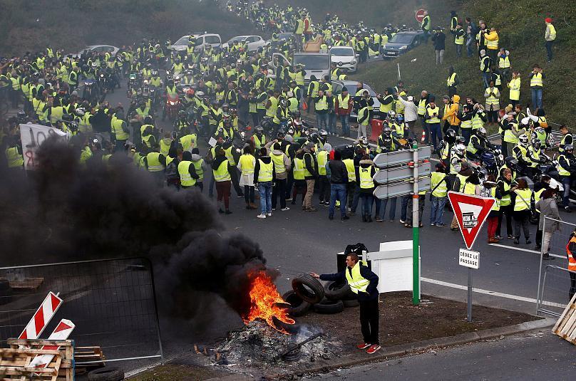 فرانسه رکورددار تجمعات اعتراضی