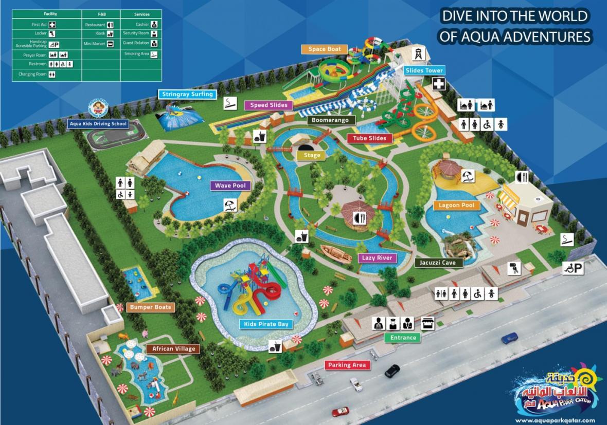 پارک آبی دوحه (قطر)