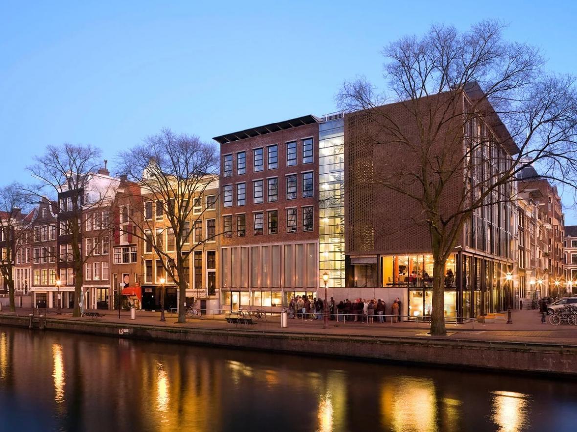 موزه آنه فرانک آمستردام (هلند)