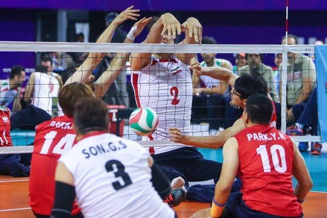 تیم ملی والیبال نشسته مردان از دیوار چین هم گذشت